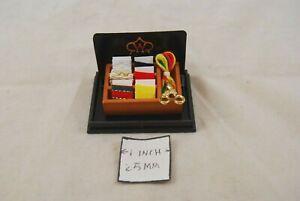 Big Sewing Basket - 1.323/6 miniature wooden dollhouse 1/12 scale Reutter
