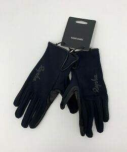 Rapha Classic Full Finger Gloves Black Size Small New