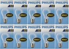 10 x Philips Glühbirne 60W E27 KLAR Glühlampe 60 Watt Glühbirnen Birne