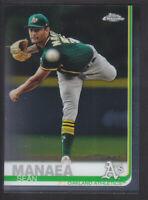 Topps - Chrome 2019 - # 170 Sean Manaea - Oakland Athletics