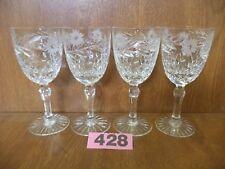 Edinburgh ARGYLL Cut Crystal - 4 x 5 Inch / 12.75 cm Port Glasses