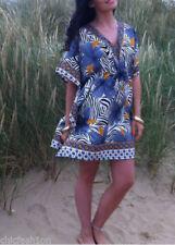 V-Neck Boho Mini Dresses for Women