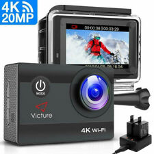 Victure AC800 Action Cam 4K Wifi 170° Weitwinkel 20MP Ultra HD