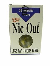 NIC-OUT Cigarette Smoking 30 Filters/holders Cut The Tar FREE SHIPPING