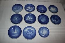 Vintage Lot 11 Bing Grondahl Mothers Childrens Day Plates 1970-1985 70 71 73 76