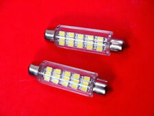 2 Super Bright White Dome Lens Lamp LEDs Lights Bulbs 1965-1995 Ford Linc Merc