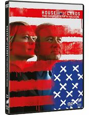 HOUSE OF CARDS - STAGIONE 5 (4 DVD) SERIE TV CULT con Kevin Spacey, Robin Wright