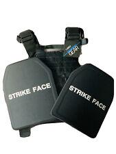 bullet proof vest body armor With plates IIIA 10x12 (M/XL)
