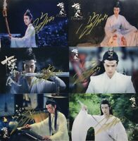 Signed Photo The Untamed Wang Yibo Sean Xiao Handsigned Autograph 陈情令 王一博 肖战