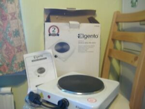 Elgento 1500w Single Boiling Ring New
