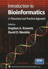 Introduction to Bioinformatics: A Theoretical & Practical Approach Textbook & CD
