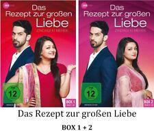 Das Rezept zur großen Liebe - Zindagi Ki Mehek BOX 1 + 2, 2x3 DVD NEU + OVP!