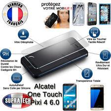 Protection Ecran Verre Trempé Contre les Chocs pour Alcatel One Touch Pixi 4 6.0