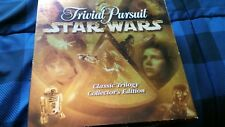 1997 Trivial Pursuit Star Wars Classic Trilogy Collectors Edition Game Complete
