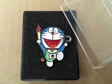 OLYMPIC MEDIA PIN BADGE JAPANESE TV ASAHI DORAEMON PINS.....no date