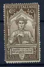 Italia Regno 1921 Sass. 118 Nuovo ** 100% Dante Alighieri