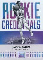 2017-18 Panini Status Rookie Credentials #18 Jayson Tatum RC Celtics