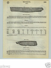 1932 PAPER AD Ideal Row Boat Sea Gull Outboard Motor Boats 14' 15' 16' 18'