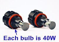 BMW LED ANGEL EYES H8 2 X 40 W  E90 E92 M3 E60 E70 E93 8 TY LM 021  E90 E92 X