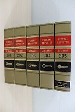 West's Federal Reporter 3D Series 201 202 203 204 205 Law Book Books Group HC
