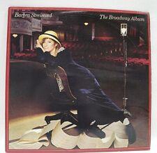 Barbra Streisand- The Broadway Album -1985 Canada Vinyl LP Release-Graded EX