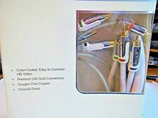 Belkin AV21001-06-WHT Component Video Colored Cables + RCA Audio Cable NEW