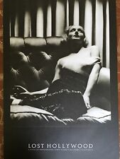 """""""LOST HOLLYWOOD"""" POSTER w/actress CAROLE LOMBARD (36in X 24in) - Vintage Glamour"""