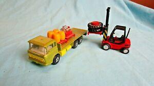 Matchbox SuperKings K-13/20 DAF Truck Car & and Forklift  VTG