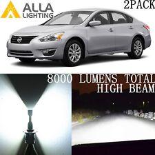 Alla Lighting LED High/Hi Beam Headlight Headlamp Bulb Lamp for Nissan,H11 White
