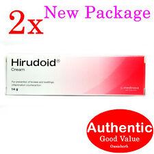 2X Hirudoid cream 14g (regular) Medinova Scar (New!)