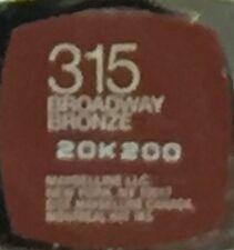 Maybelline Color Sensational Lipstick - 315 Broadway Bronze