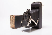 Rare Vintage 1A Pocket Kodak Serries 2 Folding Photo Camera A116 Film