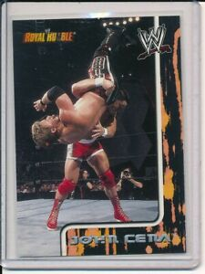 2002 Fleer WWE John Cena Royal Rumble Rookie Card #7 RC WWF