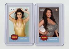 Leanne Crow rare MH Parejo #'d 1/3 Tobacco card no. 544