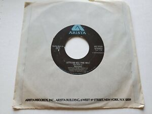 """RAYDIO - Is This A Love Thing / Let's Go All the Way DISCO Ray Parker Jr 7"""""""