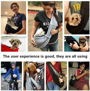 Pet Sling Hand Free Carrier Bag Comfortable & Safety for Small Dog