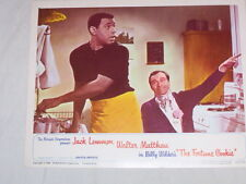"1966-""THE FORTUNE COOKIE"" LOBBY CARD STARRING JACK LEMMON/WALTER MATTHAU"