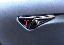 """Tesla Model S Turn Signal """"T"""" Decal for Autopilot 2 Hardware - color options"""