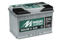 MIDAC SIGILLUM Starterbatterie S3 Plus 12V 80AH (High-DIN Version) EN (A):680