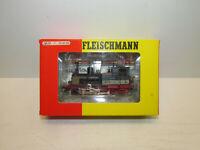 Fleischmann 1011 Dampflokomotive der DB mit BN 89 7479 Spur H0 Wechselstrom OVP