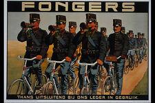 711002 Fongers Cycles A4 Photo Print