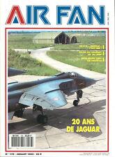 AIR FAN 176 JAGUAR 20th / SWISS ARMY HELOS SUPER PUMA / MIRAGE F1CR MIRAGE IIIRD