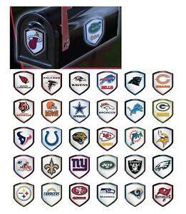 NFL Reflector Shield Decal for Car, Truck, Mailbox or Locker