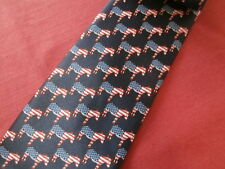 New listing Usa American Democratic Party Logo Tie American Flag by Rene Chagal
