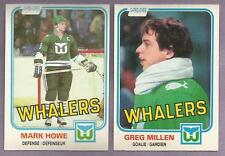 1981-82 OPC O-PEE-CHEE Hartford Whalers Team Set