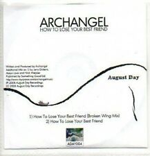 (118J) Archangel, How to Lose Your Best Friend - DJ CD
