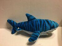 "Aurora Destination Nation Blue Shark 18"" Plush Stuffed Animal"
