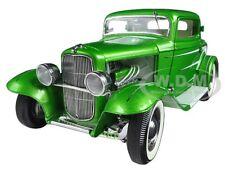 1932 FORD GRAND NATIONAL DEUCE SERIES #6 GREEN LTD 996PCS  1/18 ACME A1805011