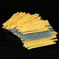 400PCS Metallfilm Widerstände 20 Werte 1/4W 1% Widerstand Sortiment Set KitS