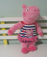 PEPPA PIG PLUSH TOY STUFFLER IN BATHING SUIT CHARACTER TOY 40CM